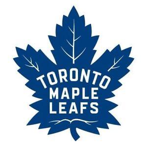 Leafs - Ottawa Senators OCT 6 - RED 104 ROW29 $550 Pair