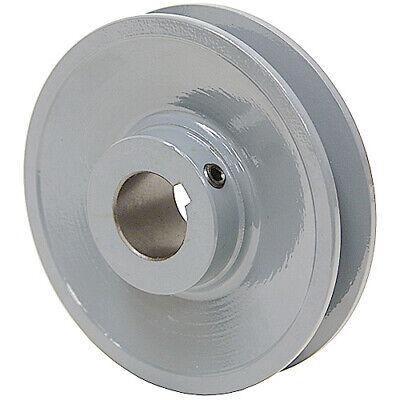 4.25 Diameter 1-18 Bore 1 Groove V-belt Pulley 1-bk45-f