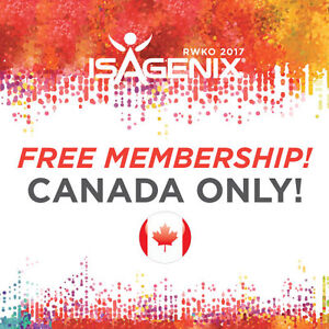 ISAGENIX - FREE MEMBERSHIP FEB 26 - MAR 5TH