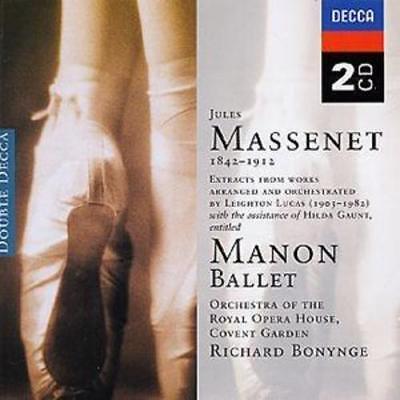 Jules Massenet : MANON - BALLET CD 2 discs (2002) ***NEW*** Fast and FREE P & P