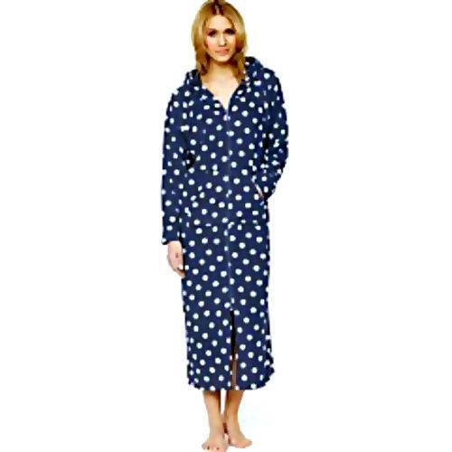 Womens Zip Dressing Gown Ebay