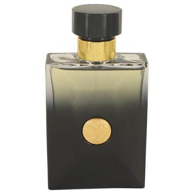 Versace Pour Homme OUD NOIR by Versace 3.4 oz EDP Cologne for Men New Tester