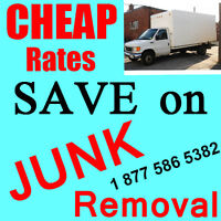 Lowest rates on garbage disposal...Call; 1877-586-5382.,.