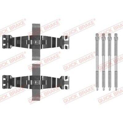 1 Zubehörsatz, Scheibenbremsbelag QUICK BRAKE 109-0022 passend für