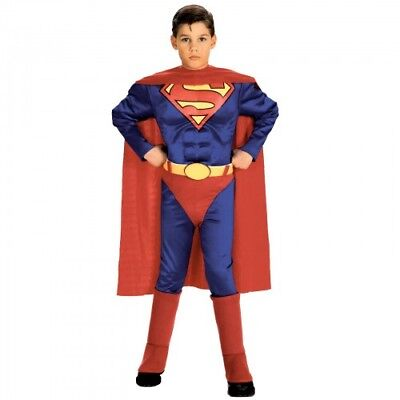 Superman with Chest Toddler/Child Costume - Toddler (2T-4T) Rubie's Costume - Superman Costume Toddler 2t 4t