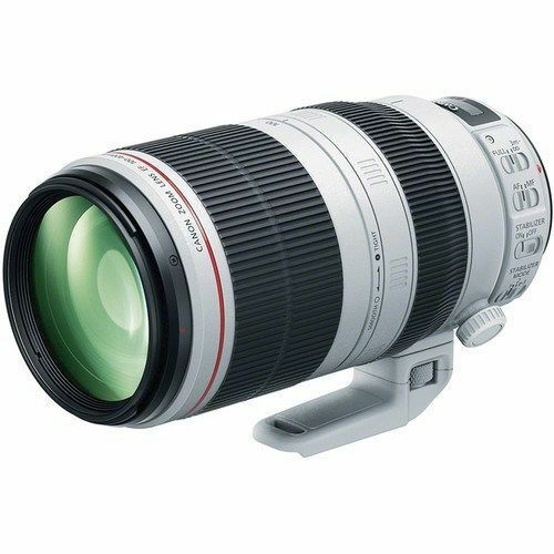 Canon EF 100-400mm f/4.5-5.6L IS II USM Telephoto Zoom Lens White 9524B002