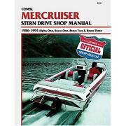 Mercruiser Alpha One Manual