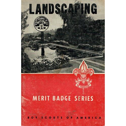 Landscaping Merit Badge Pamphlet - 1966 July Printing - 3M766