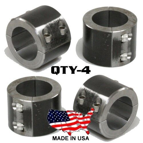 """10 Steel Universal Weld On Roll Bar Clamp 1.5/"""" Bar Cage Fabrication Cooler Mt 4B"""