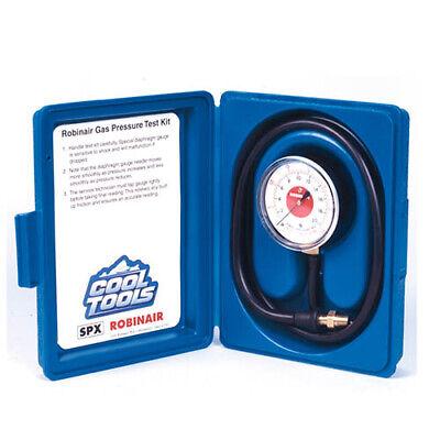 Robinair 42160 Manifold Pressure Test Kit 0-35 In Of Water Column