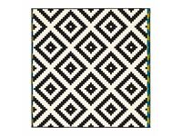 Brand new aztec woven IKEA rug - LAPPLJUNG RUTA used for 2 days only!