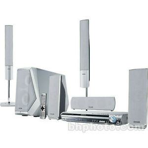Home Theater System with 5-DVD Changer