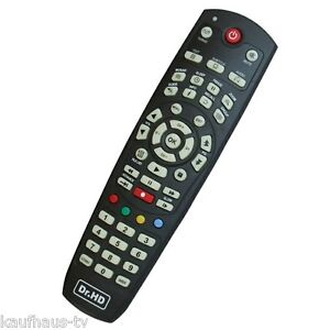Original Fernbedienung Dr.HD F15 / Clarke Tech HD 5000 5100 Serie Remote Control