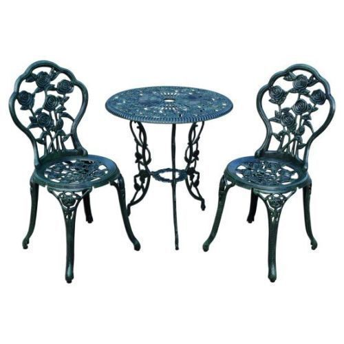 Cast Iron Patio Garden Furniture Sets, Antique Wrought Iron Patio Furniture Cushions