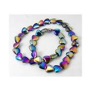 Gemstone Heart Beads
