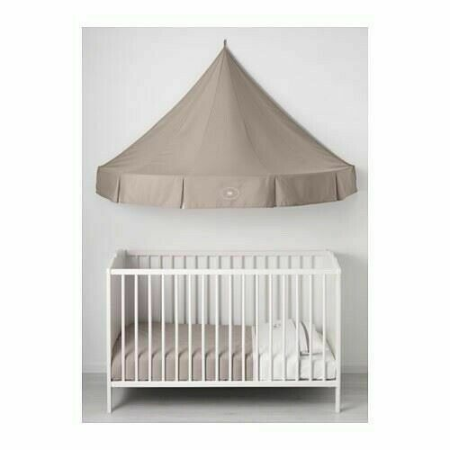 Ikea Charmtroll Tan Elephant Wall Bed Canopy 59x32x32 New in Package Playroom