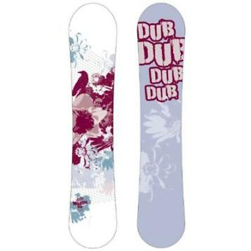 Dub Maven snowboard - All-mountain - 154 cm