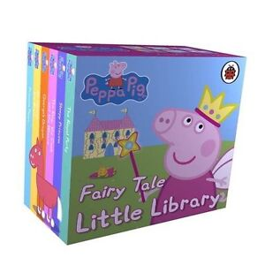 Peppa Pig Fairy Tale Little Library Book Set (Hardcover) - FAST DELIVERY!!
