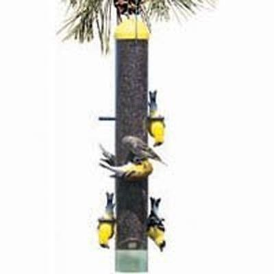 NEW WOODSTREAM 399 PERKY PET 2LB HANGING UPSIDE DOWN FINCH BIRD FEEDER NEW SALE