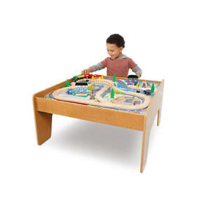 SOLD - IMAGINARIUM TRAIN TABLE SET