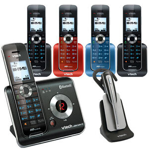 VTech DS6472-6 Phone/Answering System - 5 Handsets, Cell-Connect