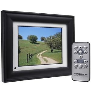 Pandigital-5-6-Diagonal-Screen-DPF56-2-64MB-Digital-Photo-Frame-MP3-Video
