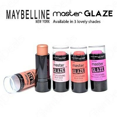 New Maybelline Master Glaze by FaceStudio Blush Stick in 2 Lovely Shades  ()