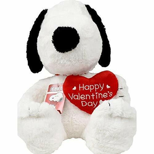 18 Inch SNOOPY Plush holding HAPPY VALENTINE DAY HEART