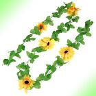 Sunflower Fabric Unbranded Floral Décor