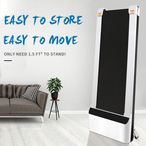 UMAY Portable Treadmill Under Desk Walking Pad Flat Slim Treadmill, Sports App