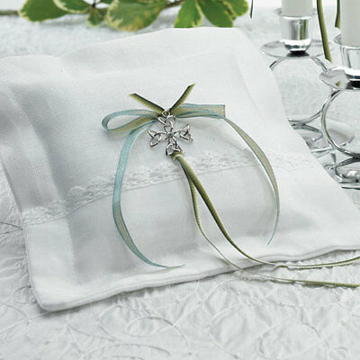 Celtic Charm Square Ring Pillow Wedding Weddingstar
