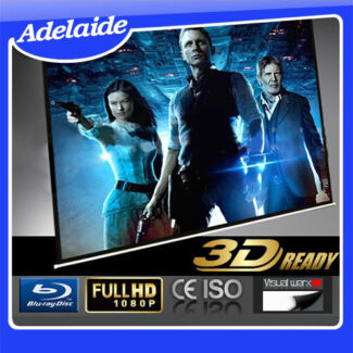 """150"""" Electric Motorised 3D/HD Projector Screen w/ Remote for TV Woodville North Charles Sturt Area Preview"""