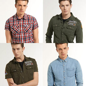Superdry men's shirts
