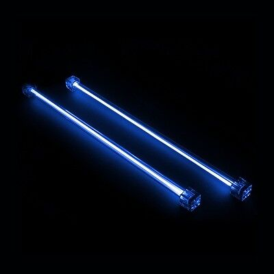 "Revoltec 12"" (30cm) Dual CCFL (Cold Cathode) 12v BLUE Kit, PC Lighting"