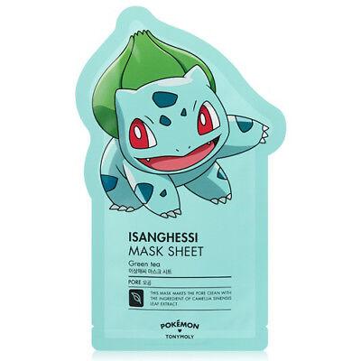 [TONYMOLY] Pokemon Isanghessi Mask Sheet (Pore) 21g*1pcs - Korea Cosmetics