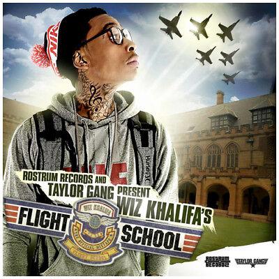 Wiz Khalifa   Flight School Mixtape Cd