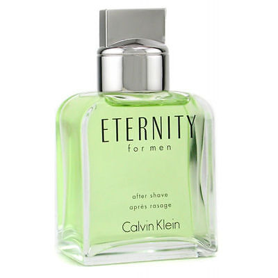 ETERNITY BY CALVIN KLEIN 3.3/3.4 oz AFTER SHAVE LOTION FOR MEN NEW AND - Calvin Klein Lotion