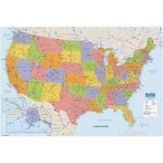 Laminated US Map