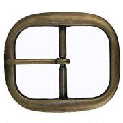 Antique Brass Belt Buckle
