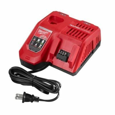 (Milwaukee 48-59-1808 M12 M18 Multi Voltage Rapid Lithuim-ion Battery Charger)