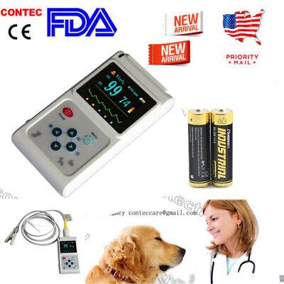 Usa Handheld Pulse Oximeter Veterinary Spo2 Sensor Oximetro De Dedopc Software