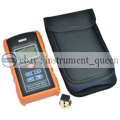 All-in-one Optical Power Fiber Meter 5mw Visual Fault Locator Tl-560a