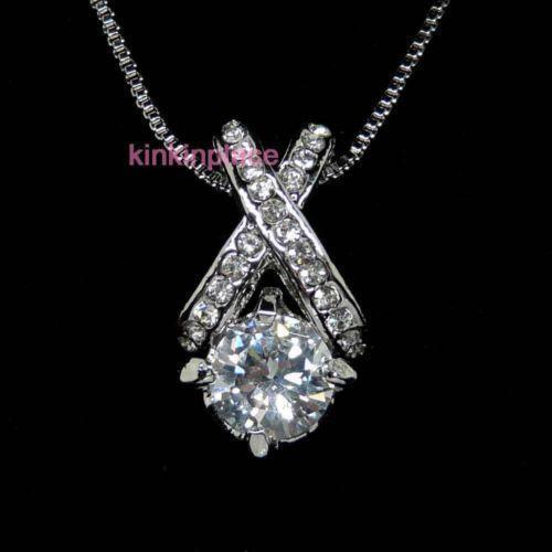swarovski necklaces crystals and hearts ebay