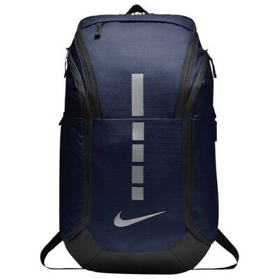 dbe825e406 Nike Hoops Elite Pro Backpack New Model Basketball 2019 Navy Met Grey NWT
