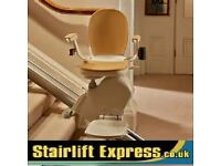 STAIRLIFTS NEW + RECONDITIONED*STANNAH *ACORN *BROOKS-FITTED WITH WARRANTY & FREE SERVICE FROM £499