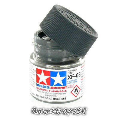 tamiya color xf 63 german grey model kit acrylic paint 10ml free shipping - Tamiya Color