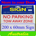 No Parking Decorative Plaques & Signs