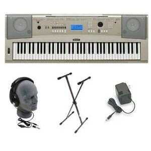 Yamaha Electric Piano Keyboard W  Full Size Keys Ypt