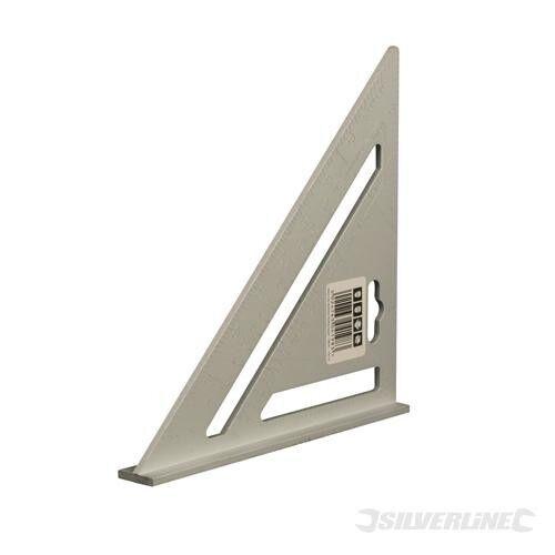 Silverline Stabiles zölliges Aluminium-Anschlagwinkeldreieck 185 mm