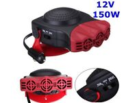 Heizgerät 200W 12V CERAMIC CAR HEATER 2IN1 HOT /& COOL FAN VAN /& Window Demister